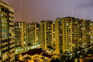 Lightning In Punggol